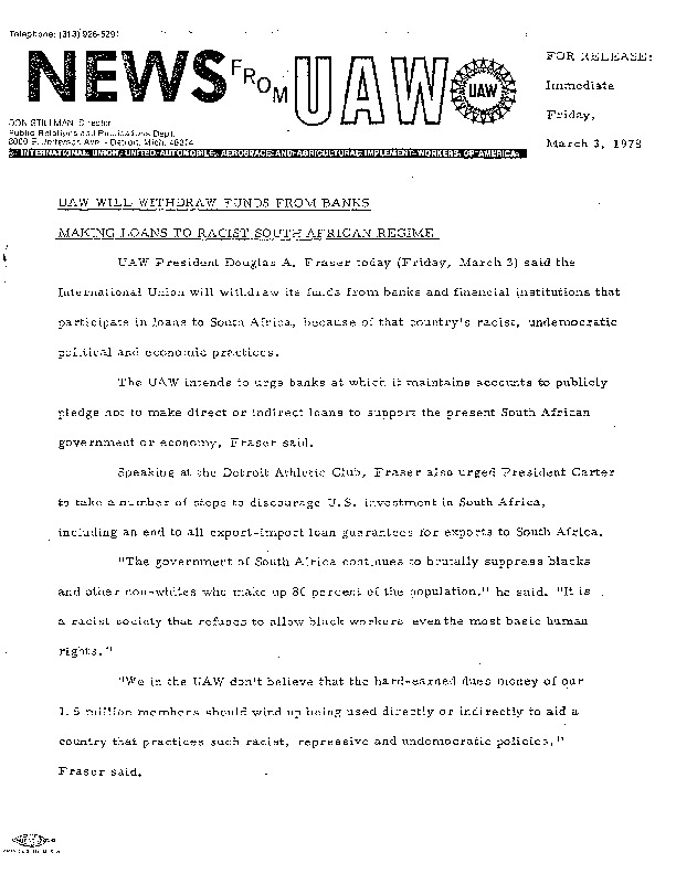 News from UAW-Will Withdraw from Banks 03-03-1978.pdf