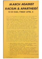 March Against Racism and Apartheid