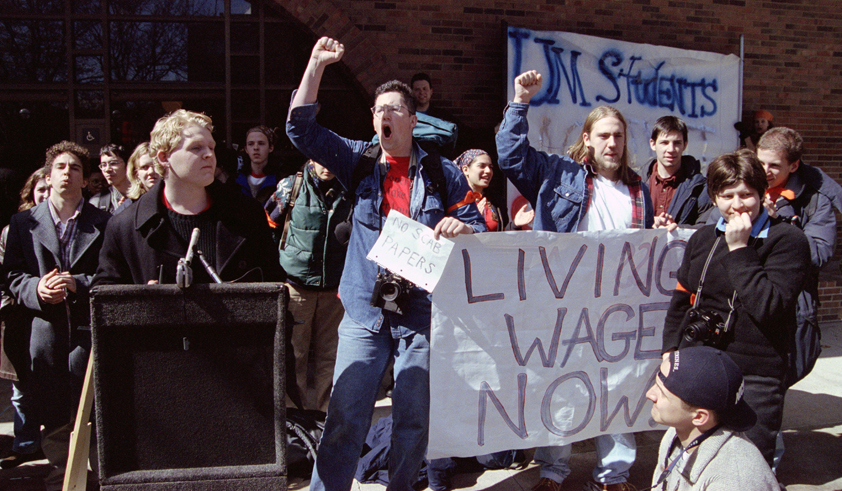 anti sweatshop movement The year 1997 marked the start of a nation-wide anti-sweatshop movement led and fueled by college and university students from over 200 campuses.