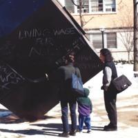 Cube Chalk Graffiti