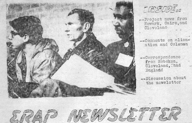 ERAP Newsletter cover July 23, 1965.