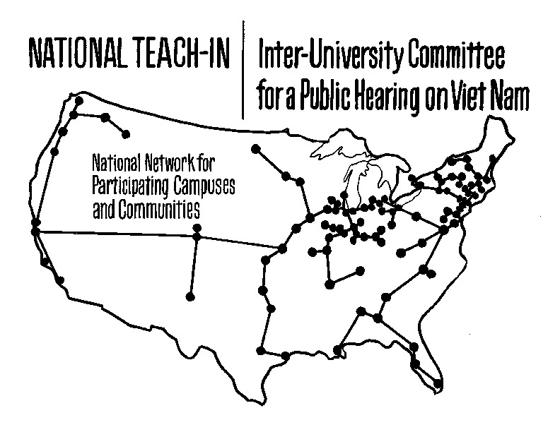 IUC National Teach-In Map