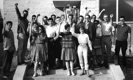 Students for a Democratic Society at National Council Meeting, September 1963.