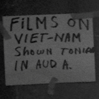 "Film screening advertised at ""Alternative Perspectives on Vietnam"" conference, September 1965"