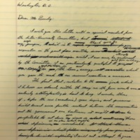 Letter from Richard Mann to McGeorge Bundy