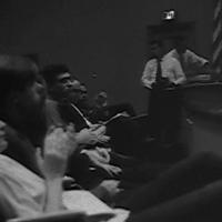 "Audience scene from the ""Alternative Perspectives on Vietnam"" Conference, September 1965"