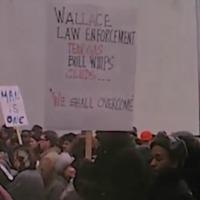 Civil Rights Rally Protestors