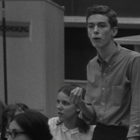 "UM Student Speaking at ""Alternative Perspectives on Vietnam Conference,"" September 1965."