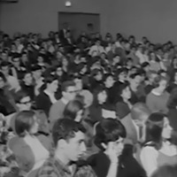 Audience at the 1965 Teach-in