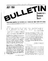 SDS Newsletter in July 1964.