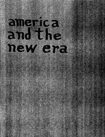 """In 1963, SDS authored a piece entitled, """"America in the New Era."""""""