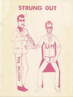 "SDS Newsletter called ""Strung Out"" circa 1970."