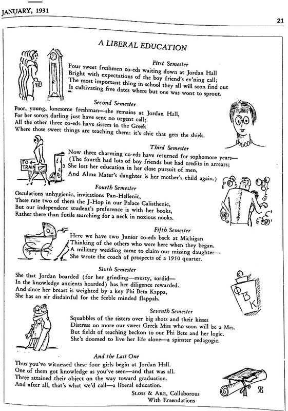 Gargoyle January 1931