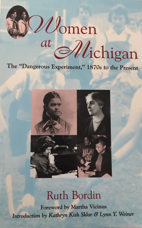 Women at Michigan book