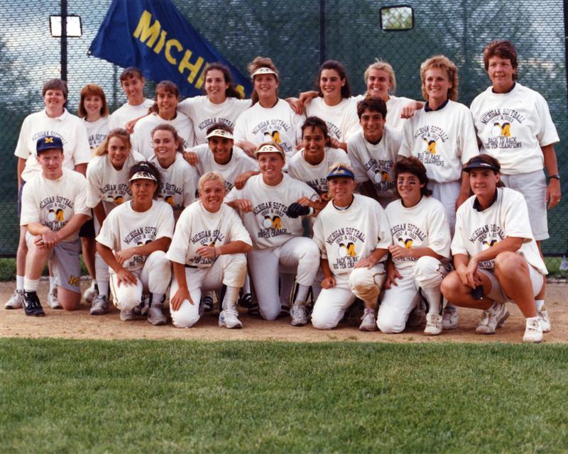 1993 Softball Team