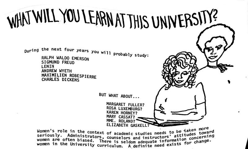 Women's Studies Ad