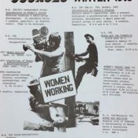 Women's Studies Course List 1975