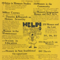 Women's Studies Course List