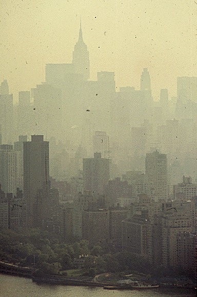 New York City Smog · Give Earth a Chance: Environmental Activism in