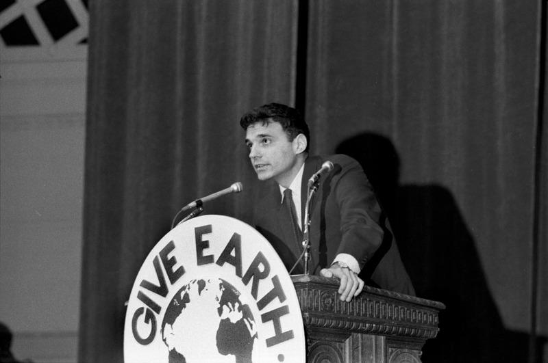 Ralph Nader at Teach-In