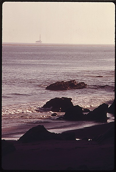 Santa Barbara Oil Platform