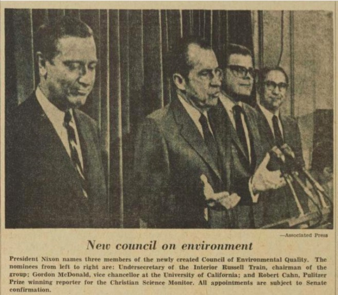 New council on environment