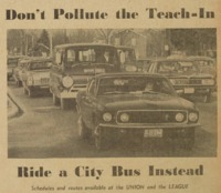 Don't Pollute the Teach-In