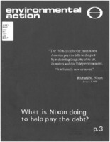 What is Nixon Doing to Help Pay the Debt?