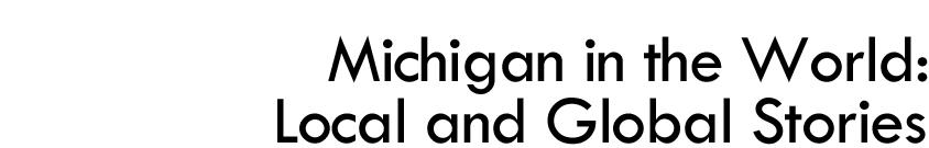 Michigan in the World