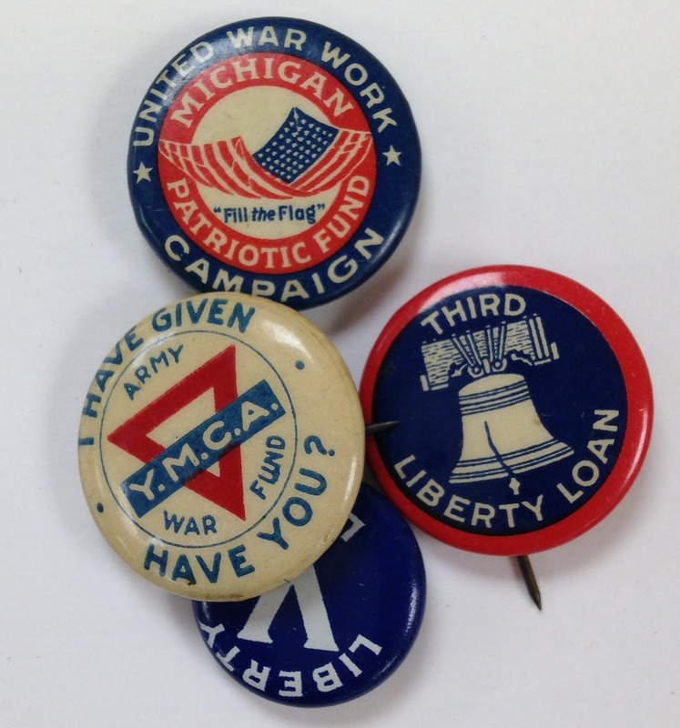 Liberty Loan Campaign Buttons