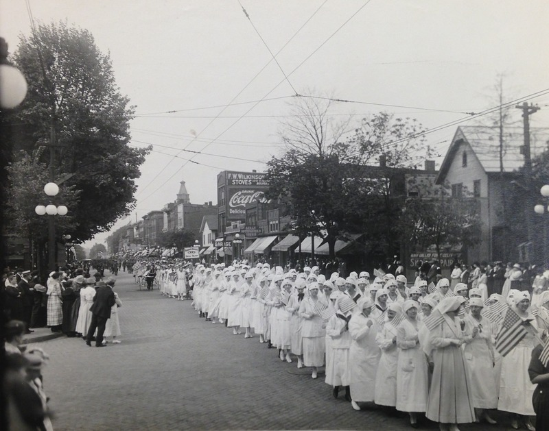 Red Cross Parade in Ann Arbor