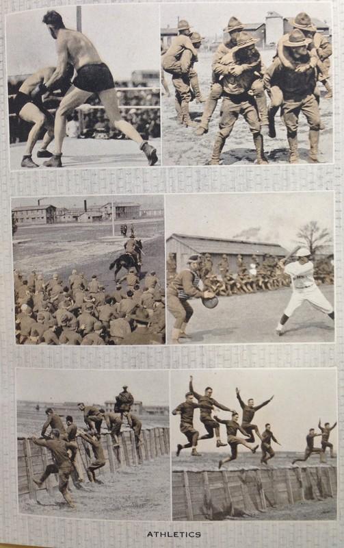 Athletics at Camp Custer
