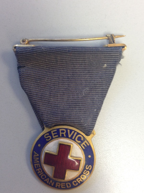 Red Cross Service Pin