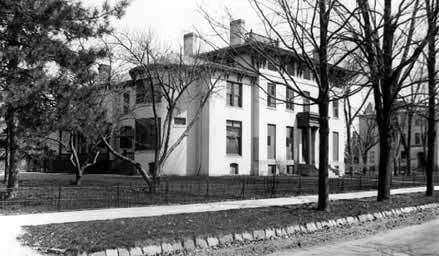 President Hutchin's House