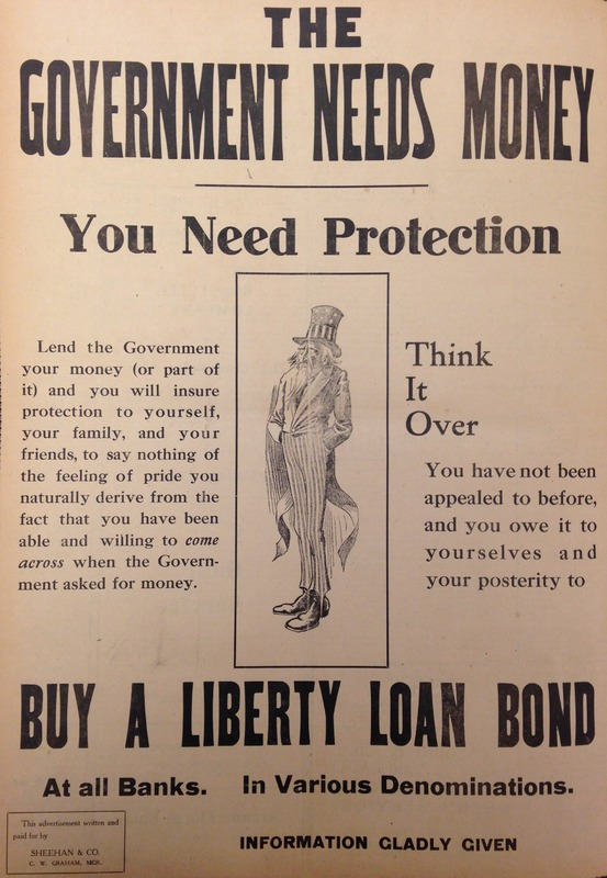 Liberty Bonds Campaign Reaches Campus
