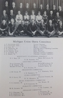 Michigan Union Opera Committee, 1918