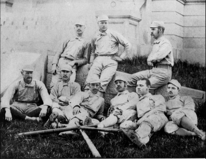 1882 Baseball Team