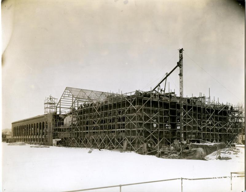 Construction of Intramural Building