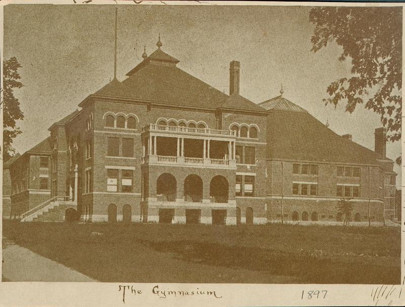 The Gymnasium [Barbour Gymnasium] 1897