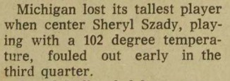 Szady Newspaper Clipping