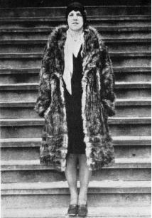 Marie Hartwig, manager of women's interclass field hockey, 1929