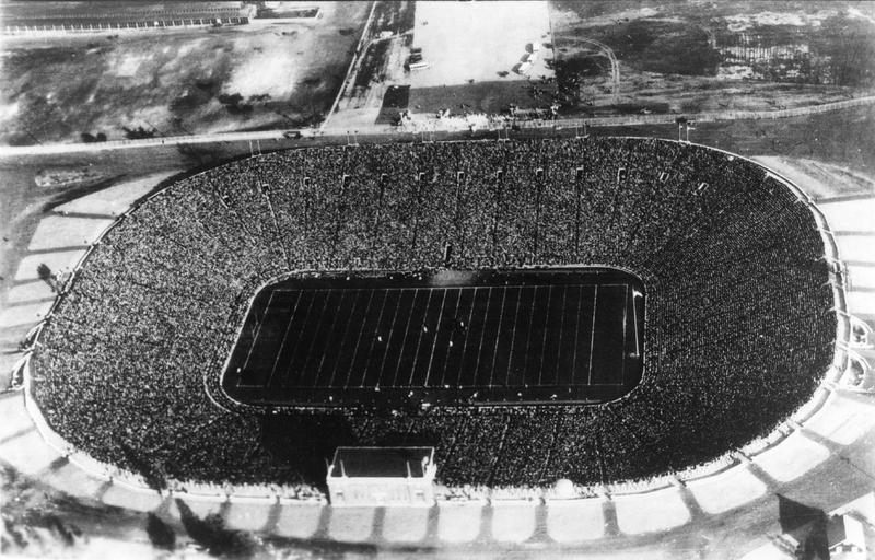 Michigan Stadium Dedication game
