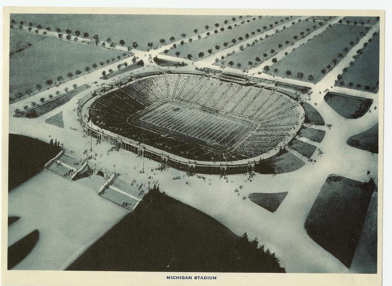 Design of Michigan Stadium