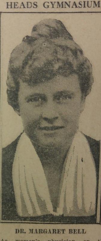 Heads Gymnasium, Dr. Margaret Bell
