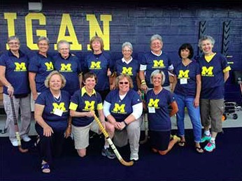 2014 Reunion of the Team One Field Hockey Team