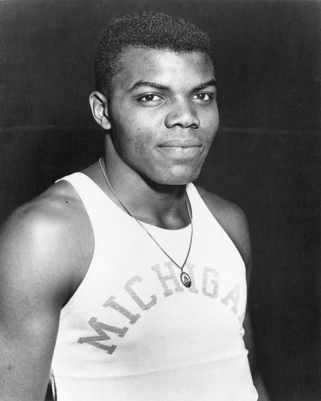 Tom Robinson, Track and Field Athlete, 1957-1962.
