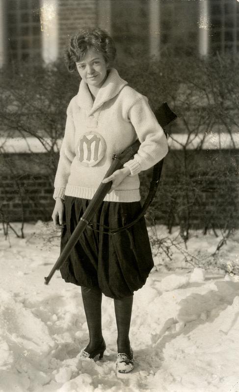 Individual Shot Rifle Woman