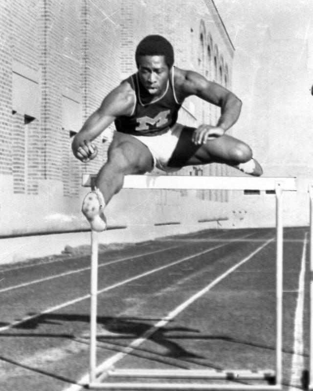 Godfrey Murray, Track and Field Athlete, 1970-1973