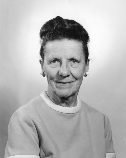 Marie Hartwig, UM Women's Athletic Director, 1973-1976
