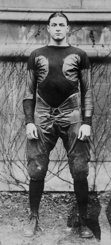 Fritz Crisler, as football player at University of Chicago